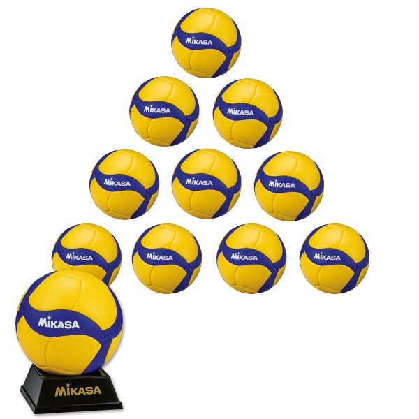 10er Ballpaket MIKASA V1.5W Mini-Volleyball