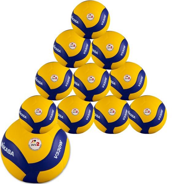 10er Ballpaket  MIKASA V330W