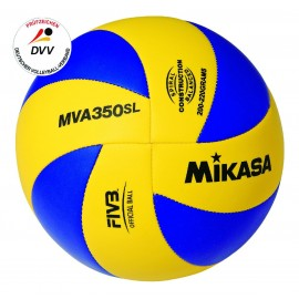 MIKASA Hallenvolleyball Kinder MVA 350SL Light